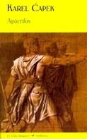 Libro: Apocrifos - Capek, Karel
