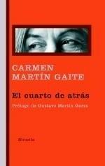 Libro: El cuarto de atrás - Martin Gaite, Carmen