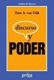 Libro: Discurso y poder - Van Dijk, Teun A.
