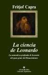 Libro: La Ciencia de Leonardo 'La Naturaleza Profunda de la Mente del Gran Genio del Renacimien' - Capra, Fritjof