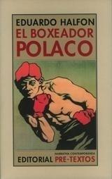 Libro: El boxeador polaco - Halfon, Eduardo