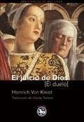 Libro: Juicio de Dios, El - Kleist, Heinrich Von