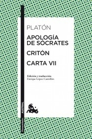 Libro: Apología de Sócrates / Critón / Carta VII - Platon