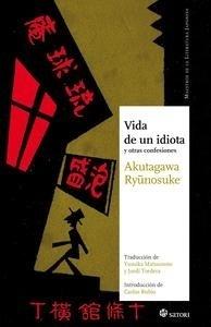 Libro: Vida de un idiota 'y otras confesiones' - Akutagawa, Ryûnosuke