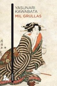 Libro: Mil grullas - Kawabata, Yasunari