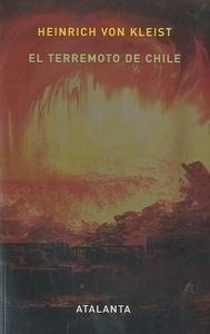 Libro: El Terremoto de Chile - Kleist, Heinrich Von