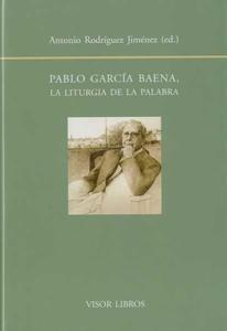 Libro: Pablo García Baena - Rodriguez Jimenez, Antonio