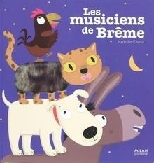 Libro: Les musiciens de Brême - Choux, Nathalie