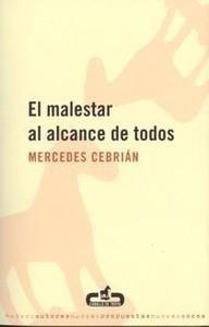 Libro: El Malestar al Alcance de Todos - Cebrian, Mercedes