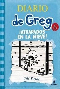 Libro: Diario de Greg 6 '¡Atrapados en la nieve!' - Kinney, Jeff