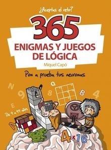 Libro: 365 enigmas y juegos de lógica - Capó Dolz, Miquel