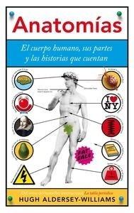 Libro: Anatomías 'El cuerpo humano, sus partes y las historias que cuentan' - Aldersey-Williams, Hugh