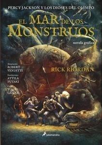 Libro: El mar de los monstruos. Novela gráfica Vol.2 'Percy Jackson y los Dioses del Olimpo' - Riordan,  Rick