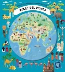 Libro: Atlas del mundo 'Explora los 7 increíbles mapas desplegables' -