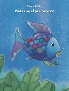 Libro: Pinta con el pez Arcoíris - Pfister, Marcus