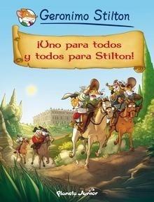 Libro: ¡Uno para todos y todos para Stilton! 'Cómic Geronimo Stilton 15' - Stilton, Geronimo