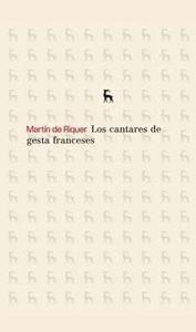Libro: CANTARES DE GESTA FRANCESES - Riquer, Martin De