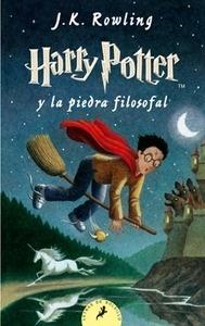 Libro: Harry Potter y la Piedra Filosofal 1 (tapa blanda, lomo blanco) - Rowling, J.K.