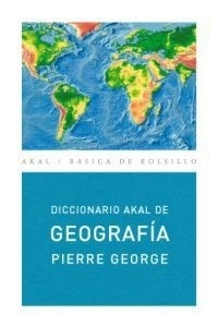 Libro: Diccionario de Geografía - George, Pierre: