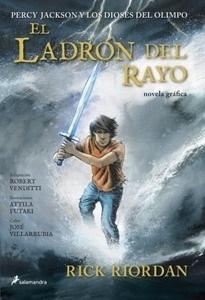 Libro: El ladrón del rayo. Novela gráfica Vol.1 'Percy Jackson y los dioses del Olimpo' - Riordan,  Rick
