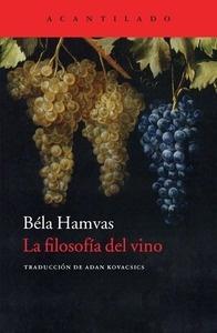 Libro: La filosofía del vino - Hamvas, Bela