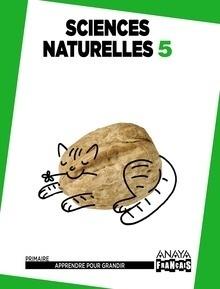 Libro: Sciences Naturelles 5. Anaya Français. Primaire - Varios