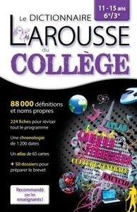 Libro: Larousse dictionnaire du Collège 11/15 ans  6e/3e - Larousse