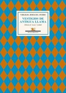 Libro: Vestigios de antigua llama 'Antología' - Virgilio