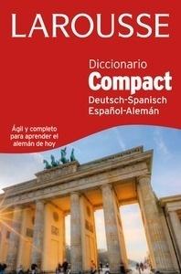 Libro: Diccionario Compact español-alemán / deutsh-spanisch - Larousse Editorial