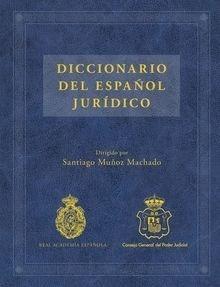 Libro: Diccionario del español jurídico - Muñoz Machado, Santiago