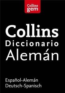 Libro: Diccionario Alemán (Gem) 'Español-Alemán   Deutsch-Spanisch' - Collins