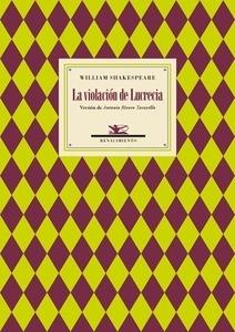 Libro: La violación de Lucrecia - Shakespeare, William