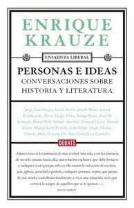 Libro: Personas e ideas 'Conversaciones sobre Historia y Literatura' - Krauze, Enrique