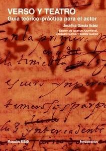 Libro: Verso y tatro 'Guía teórico-práctica para el actor' - Garcia Araez, Josefina: