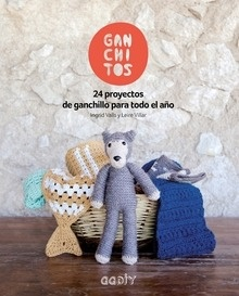 Libro: Ganchitos '24 proyectos de ganchillo para todo el año' - Valls Soley, Ingrid