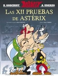 Libro: Las XII pruebas de Astérix. Edición 2016 - Goscinny, Rene