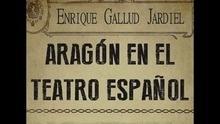 Libro: Aragón en el teatro español - Gallud Jardiel, Enrique