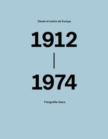 Libro: Desde el centro de Europa. Fotografía checa.  1912-1974. - Sieger, Dietmar