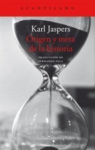 Libro: Origen y meta de la historia - Jaspers, Karl
