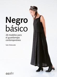 Libro: Negro básico '26 modelos para el guardarropa contemporáneo' - Watanabe, Sato