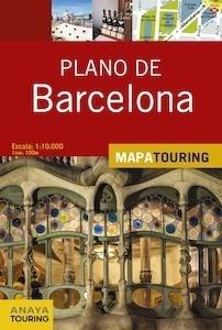 Libro: PLANO DE BARCELONA Mapa Touring -2017- - Anaya Touring