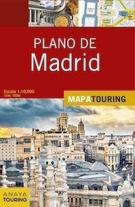 Libro: PLANO DE MADRID Mapa Touring -2017- - Anaya Touring