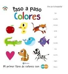 Libro: Paso a paso. Colores - Poitier, Anton