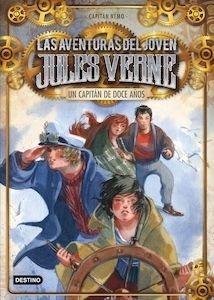 Libro: Las aventuras del joven jules verne. un capitán de doce años - Capitán Nemo