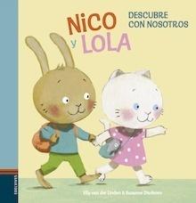 Libro: Nico y Lola 1. Descubre con nosotros (mayúsculas) - Van Der Linden, Elly