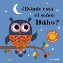 Libro: ¿Dónde está el señor Buho? Texturas - P. Arrhenius, Ingela