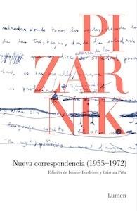 Libro: Nueva correspondencia (1955-1972) - Pizarnik, Alejandra
