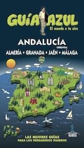 Libro: ANDALUCÍA ORIENTAL  Guía Azul  -2016- - Monreal, Manuel