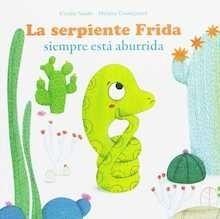 Libro: La serpiente frida siempre esta aburrida - Saudo, Coralie