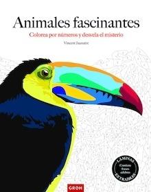 Libro: Animales fascinantes 'Colorea por números' - Jaunatre, Vincent